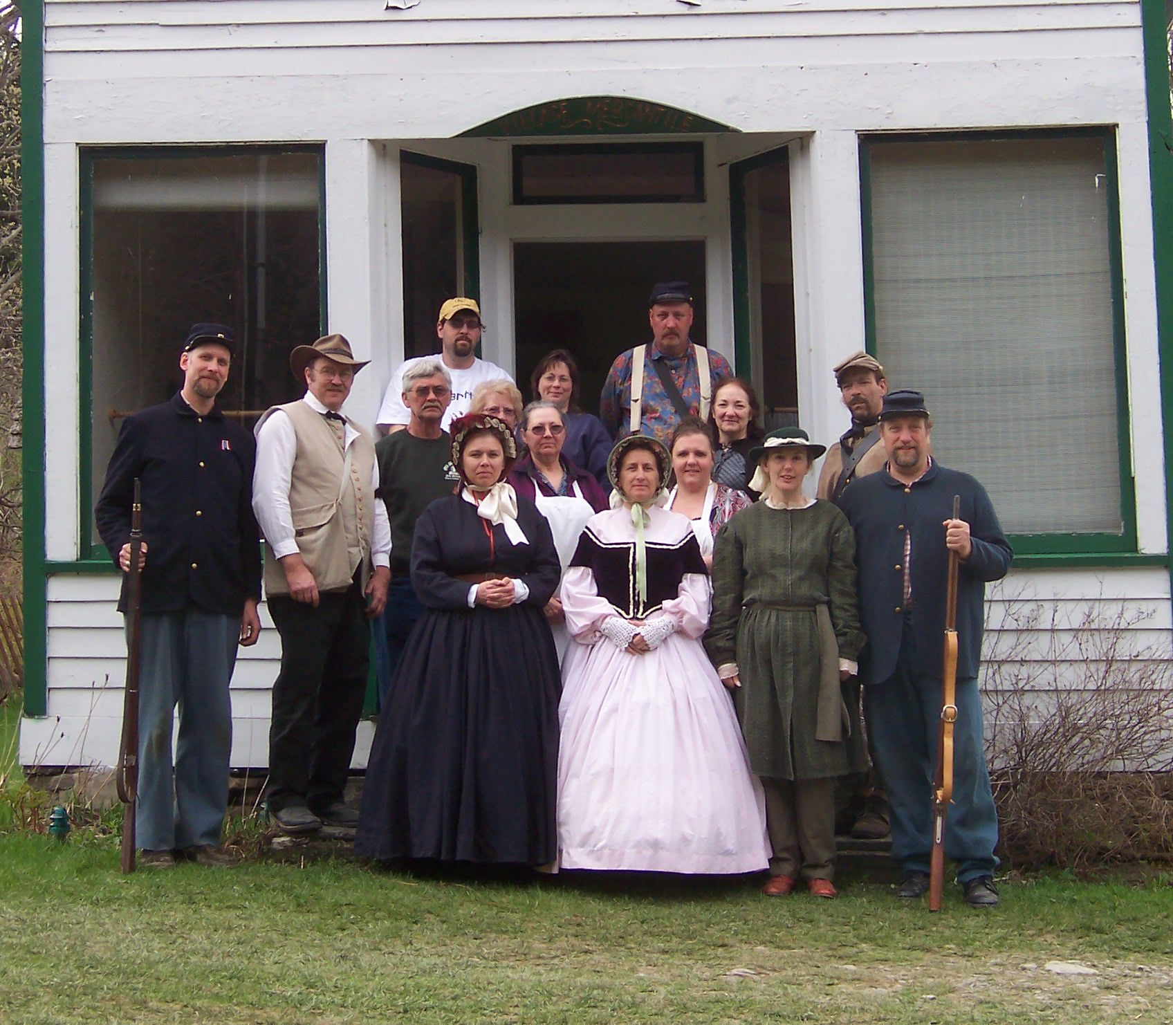 Old Mill Village volunteers
